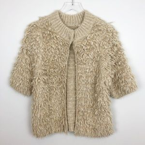 Anthropologie | Talah Eyelash Cardigan Sweater